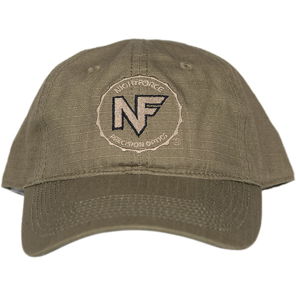 A253_OD_Green_Ripstop_Embroidered_Hat - A253_OD_Green_Ripstop_Embroidered_Hat_Front