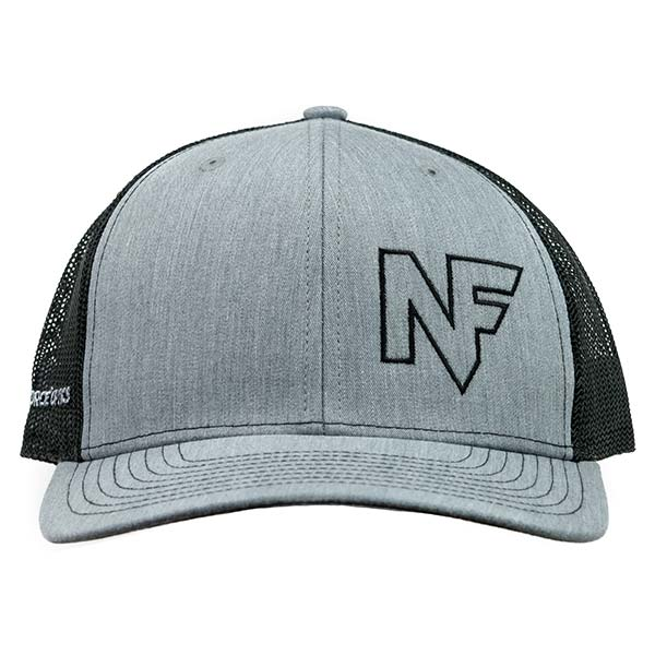 A520_Hat_Grey_Mesh_Back_Embroidered - A520_Hat_Grey_Mesh_Back_Embroidered_F