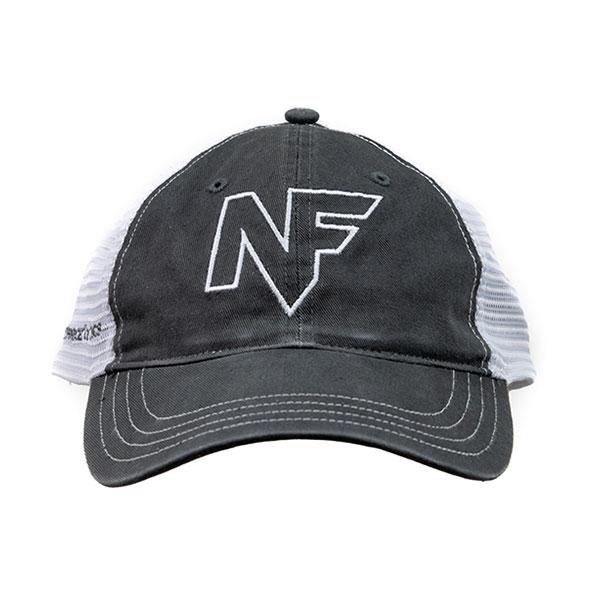A525_Hat_Black_Mesh_Back_Embroidered - A525_Hat_Black_Mesh_Back_Embroidered_F