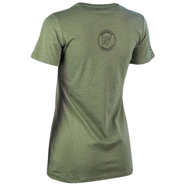 JPG - A565_Stylized_AR_NX8_Black_on_Military_Green_Ladies_B_Left