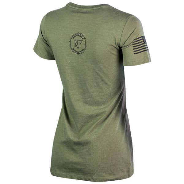 JPG - A565_Stylized_AR_NX8_Black_on_Military_Green_Ladies_B_Right