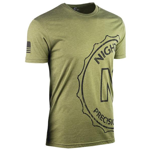 JPG - A569_Wrap_Around_Medallion_Black_on_Military_Green_Mens_F_Right