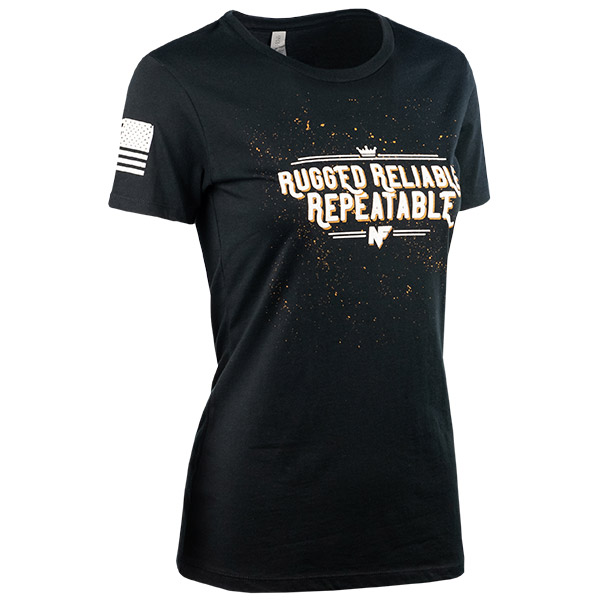 JPG - A580_Rugged_Reliable_Repeatable_White_on_Black_Womens_F_Right