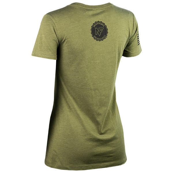 JPG - A583_Rugged_Reliable_Repeatable_Black_on_Military_Green_Womens_B_Left